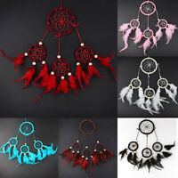 Handmade Hanging Feather Indian Style Dream Catcher Decoration For Wall Car Home
