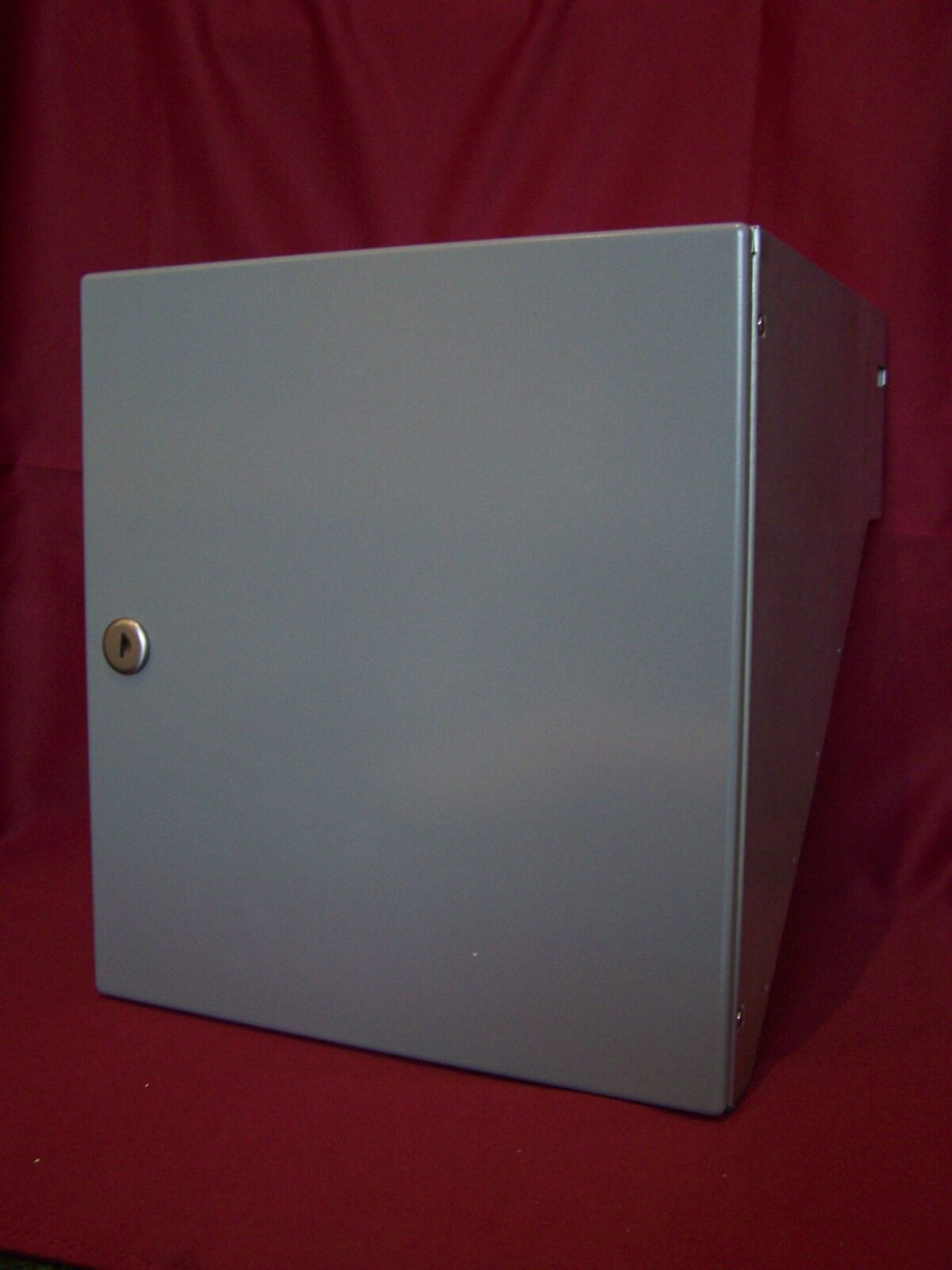 Mauerdurchwurf Briefkasten Renz Tür grau Postkasten Fixtiefe 245 mm Einbau MDH32