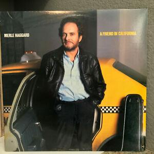 "MERLE HAGGARD - A Friend In California (Epic E40286) - 12"" Vinyl Record LP - VG+"