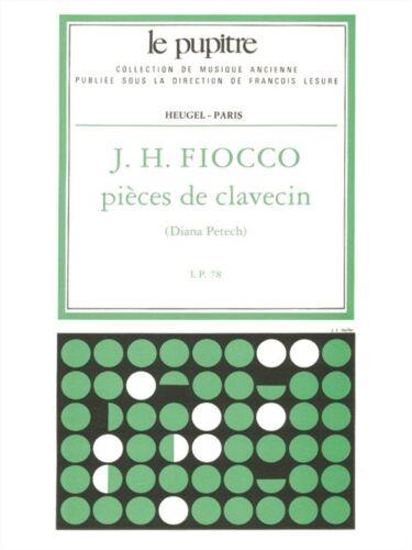 Fiocco Pièces De Clavecin Critique De D Petech Lp 78 Harpsichord MUSIC BOOK
