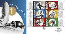 Nederland fdc  654 a en b  Olympische spelen 2012   onbeschreven