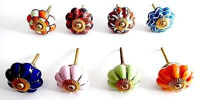 Blumen: Porzellan Möbelknauf Shabby Furniture Knob Möbelgriff Handle Noppe Griff