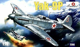 Amodel 7286-1:72 Yakovlev Yak-9P Soviet fighter Neu