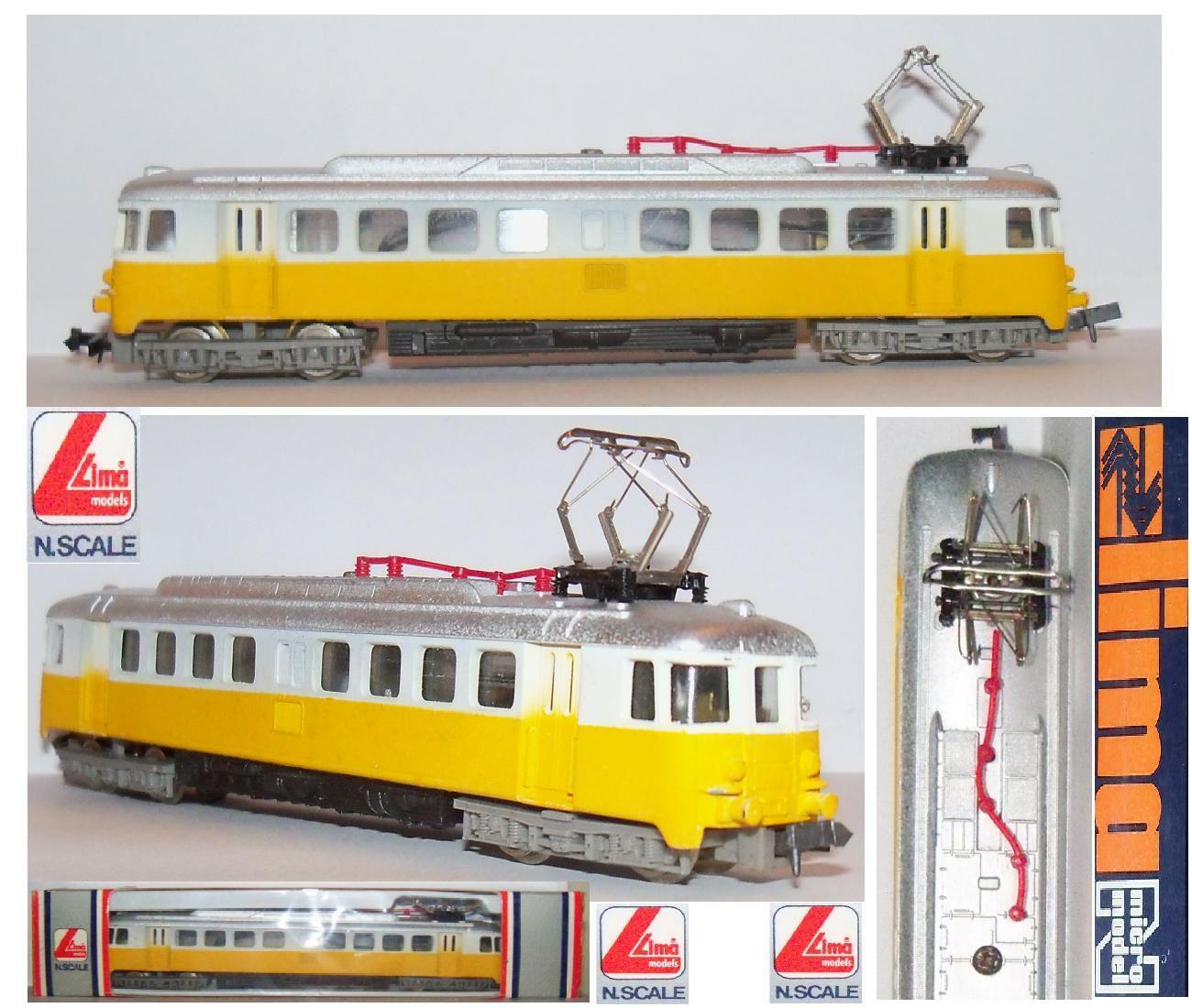 LIMA VINTAGE 320322 320322 320322 LITTORINA RBe 4 4 SBB-CFF REPAINTED giallo POSTE BOX SCALA-N 21eca7
