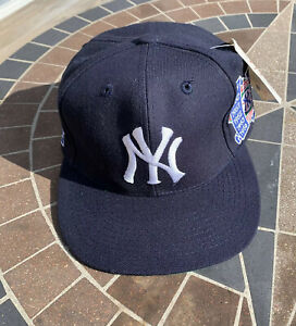 Vintage New York Yankees 1996 World Series Snapback Hat Annco Pro Model