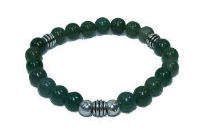 Bracelet de perles AVENTURINE Pierres naturelles 8 mm 18cm ou sur mesure