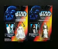Star Wars Power of the Force BEN OBI-WAN KENOBI PRINCESS LEIA ORGANA Figure Lot