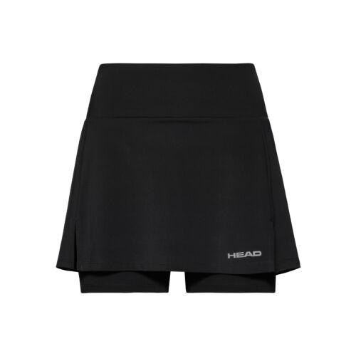 HEAD Damen Club Basic Long Skirt  Rock schwarz NEU