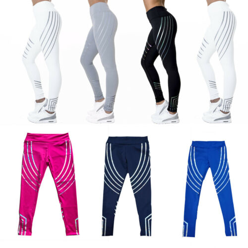 jogging per a sportivi strisce Fitness da da pantaloni donna sportivi allenamento Pantaloni aqXPwP
