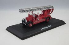 LEYLAND TLM FIRE POMPIERS BOMBEROS ATLAS 1:72 HARD BOX