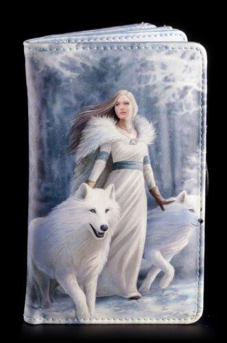 Winter Guardians Geldbörse mit Wolf Anne Stokes Geldbeutel Fantasy Damen