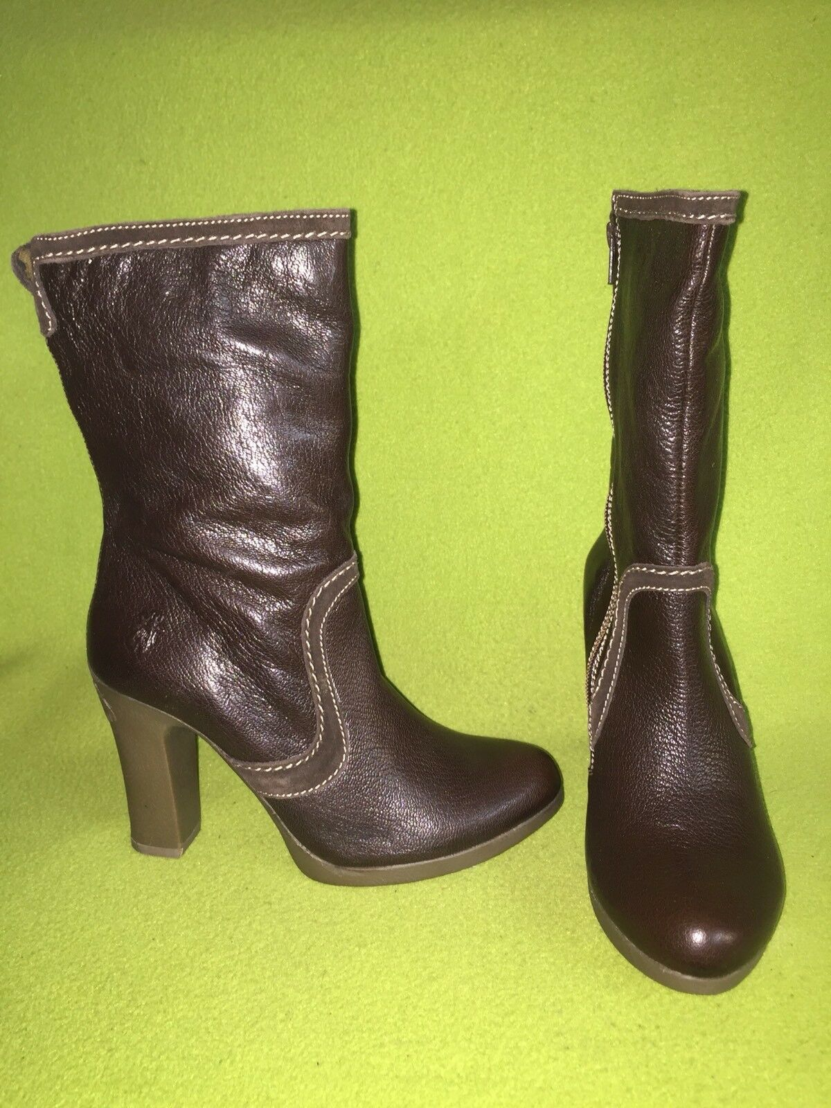 New Brown Fly London Paul Boots 8 39