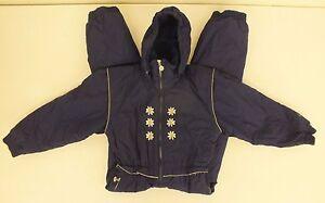 362327764 Jupa Sports Dark Blue Fully Insulated Ski/Snowsuit Juniors Size 10 ...