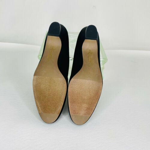 Details about  /Soft Style a Hush Puppy Company Angel II Black Fabric