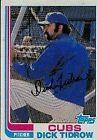 1982 Topps Dick Tidrow #699 Baseball Card
