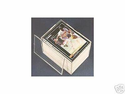 5 PRO MOLD 50 COUNT Trading CARD SNAP STORAGE BOX Plastic PC50 Sports 2-piece