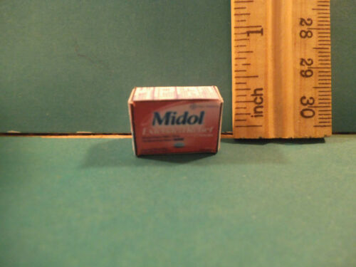 Barbie 1:6 Bathroom Miniature Box of Midol