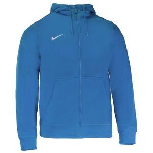 Nike-Team-Club-Sudadera-Con-Cremallera-Completa-Chaqueta-de-hombre-azul