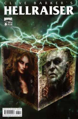 COVER B BOOM HELLRAISER #6 MR STUDIOS 2011