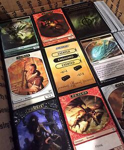 4000-MTG-TOKENS-Magic-The-Gathering-MTG-Cards-Bulk-Collection-No-Tip-Cards