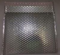 Case Of 48 12.25 X 10.25 Silver Metallic Bubble Mailers Liquidation Sale U9