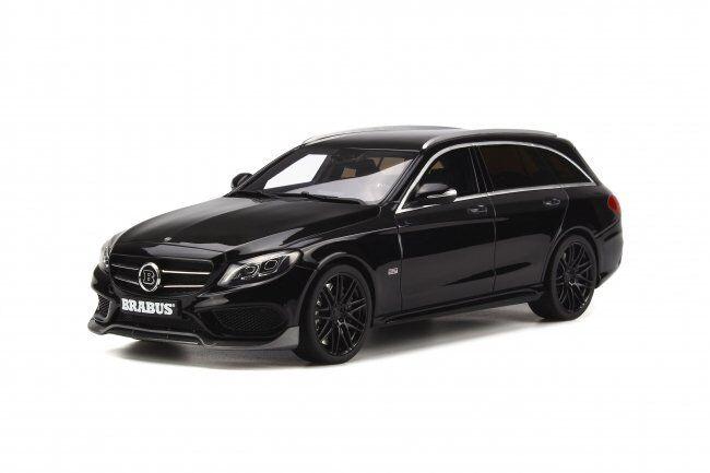 Modelo de coche de resina GT Spirit Mercedes-Benz Clase C Brabus T-Modelo B25 (nero) 1 18