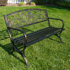 Metal Patio Garden Benches eBay