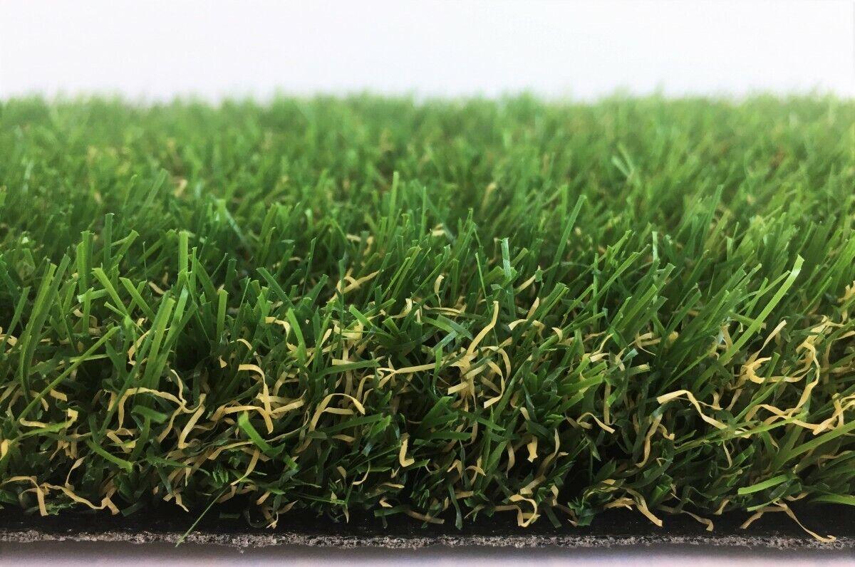 Stadion Rasen Teppich Kunstrasen 34 mm 200x550 cm grün