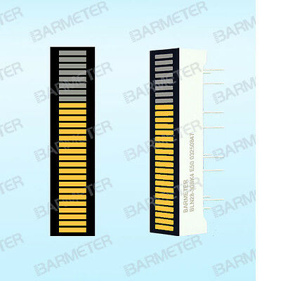 Other Musical Instrument Equip Equipment yellow 3pcs 28 Seg 30mm Led Bargraph Display Common Anode