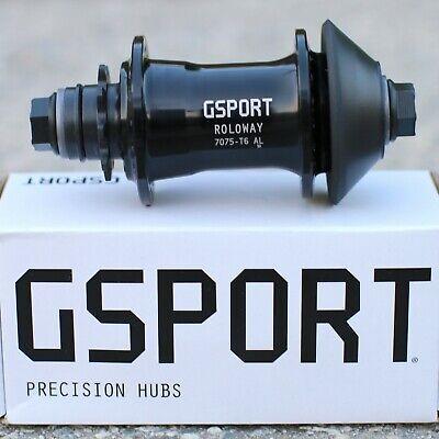 Roloway Male 36H 14mm x 9T Gsport BMX Rear Cassette Hub Black