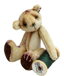 Scrumble-teddy-bear-sewing-pattern-by-pcbangles-Size-3-034-Tea-dying-tutorial-inc