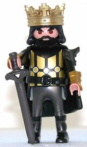 BLACK-KING-PLAYMOBIL-to-Golden-Knight-castle-Tournament-Crusader-Crusader-1582