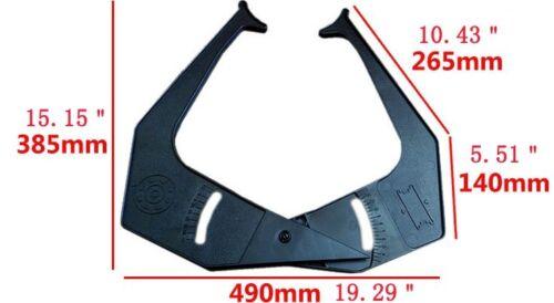 Wheel Tire Balancer Rim Width Caliper Measurement Measuring Tool