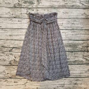 Express-Women-039-s-Polka-Dot-Strapless-Dress-Size-XS