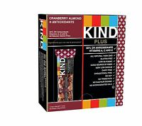 Kind Bars Cranberry Almond + Antioxidants Gluten Free 1.4 Ounce... Free Shipping
