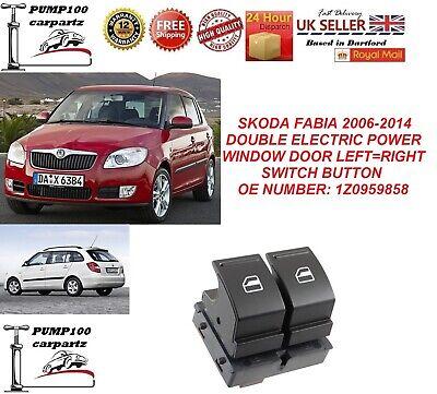 Car Window Switches Driver Side 1Z0959858 For SKODA FABIA MK2 2006-2014 GB
