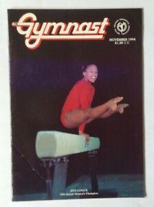 The-Gymnast-Magazine-Nov-94-Women-039-s-amp-Men-039-s-Champs-Khorkina-Milosovici
