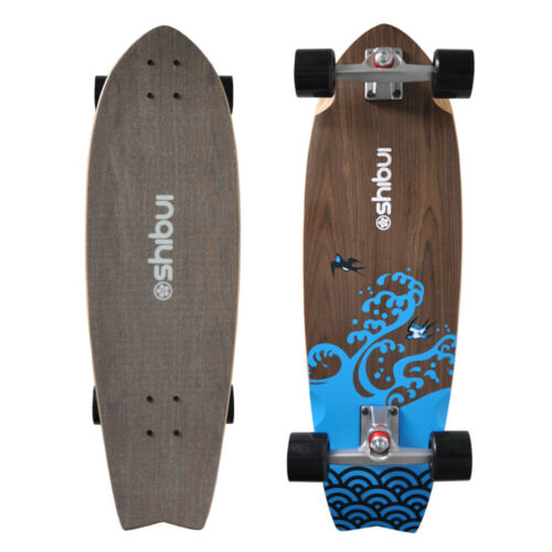 """SHIBUI  SWALLOW 31/"""" SURFSKATE SKATEBOARD COMPLETE NEW SURF TRUCK SYSTEM"""