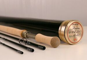 """11/"""" Spey Rod Cork Grip and Butt w// Rounded Butt Burled Ends"""