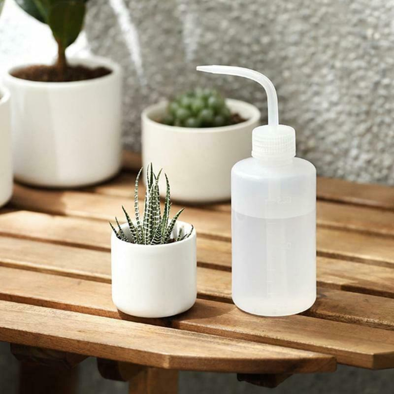 250/500ml Watering Can Plastic Squeeze Bottle for Succulents Potted Plant Flower