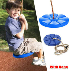 Daisy Disc Swing Seat Blue Set Playground Accessories