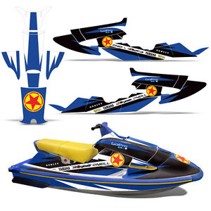 Decal Graphic Kit Yamaha Jet Ski Wrap Jetski Wave 700 1100 Raider 1994 1996 R S Ebay
