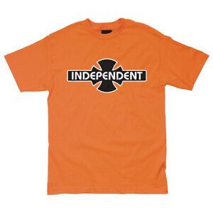 Independent-Truck-Company-O-G-B-C-Skateboard-Tee-T-shirt-Orange-M-L-XL-2XL