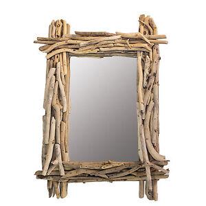 Details zu DARIMANA - Treibholz Spiegel ca. 38 cm x 54 cm SONDERPREIS