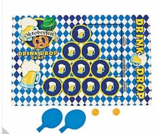 Oktoberfest Drink Drop Drinking Party Game Beer Pong Fun Festival Carnival Prize