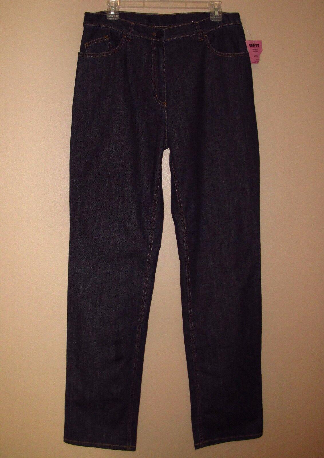 Marina Rinaldi Max Mara  Dark Slim High Waist X-Long Jeans MR 21 US 12-14W