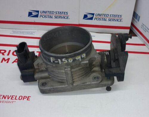 01-04 FORD F150 PICKUP Throttle Body Throttle Valve f4sf 9b989 ab F77U-9U538-AO