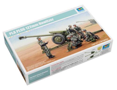 1:35 Modellbausatz Geschütz Trumpeter 9362330 Chin D-30 122-mm-Haubitze PL96