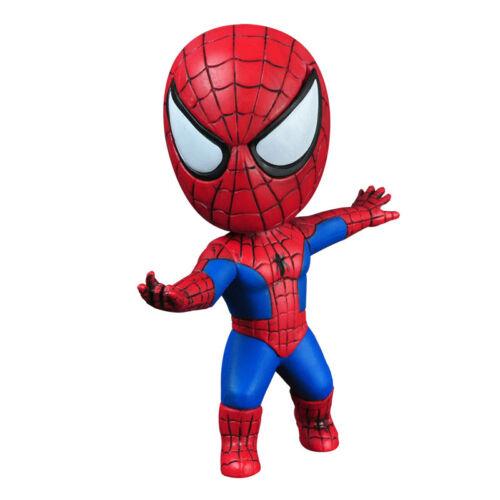 Q Version Marvel Spiderman Deadpool Bobble Head Figure Car Accessories Toys New