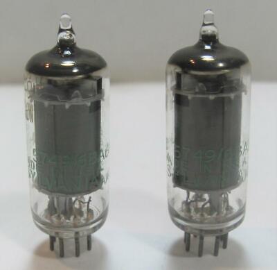 Sylvania JHS 6BF7W vacuum tube sub-miniature electron tube